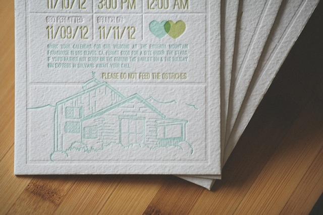 farmhouse save the date