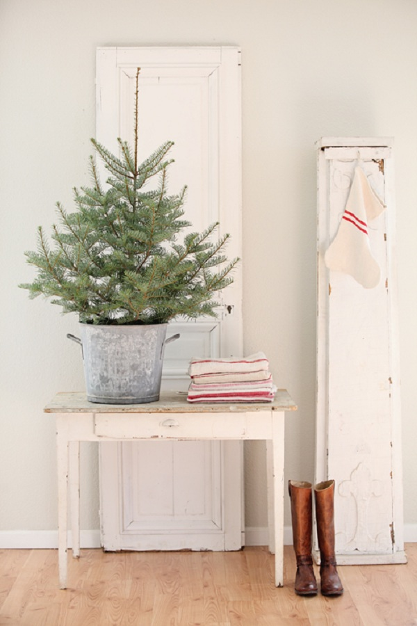 french farmhouse christmas