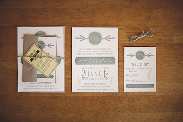our wedding invitations