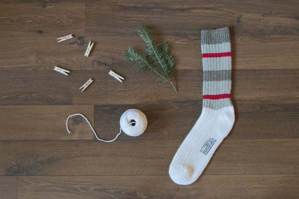 diy stocking / a thousand threads
