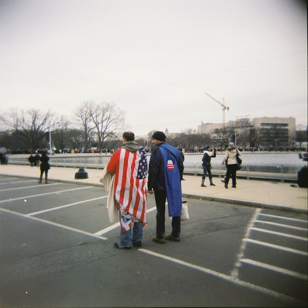 2013 inauguration on Holga