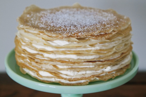 bailey's irish cream crepe cake