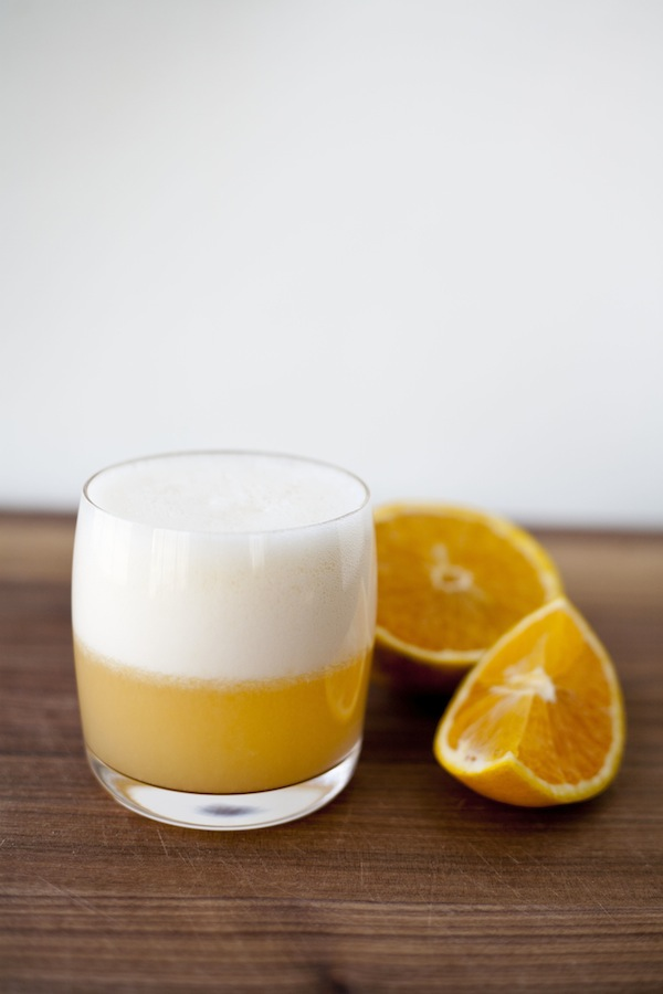 orange gin fizz / a thousand threads