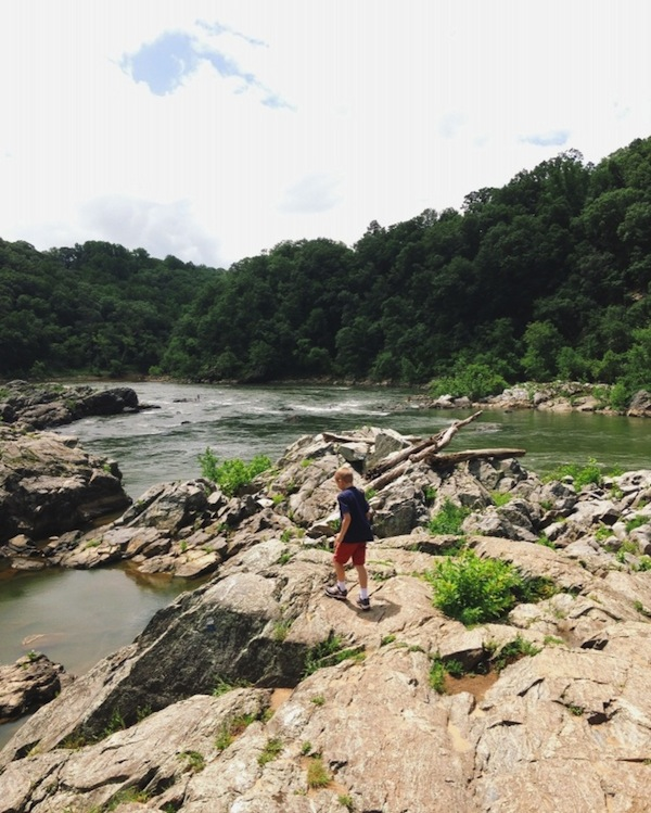 hiking on the billy goat trail / a thousand threads